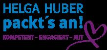 Helga Huber packt's an!