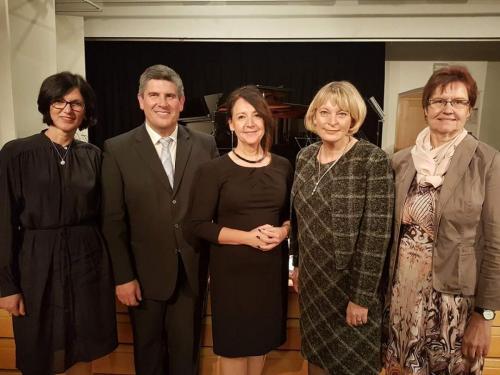 2018-01-11 Helga Huber CSU Neujahrsempfamg Deutschordensschloss Postbauer-Heng