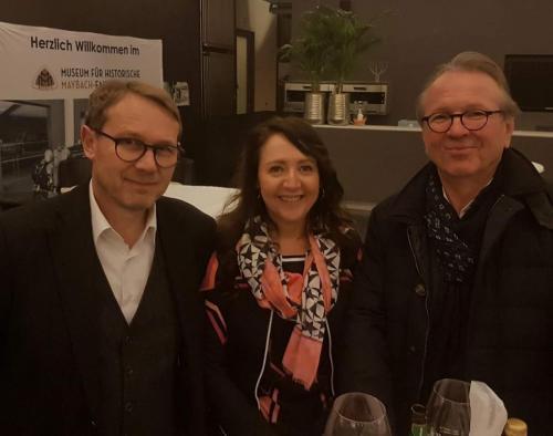 2018-02-10 Helga Huber CSU Architekturfest im Maybach Museum mit Architekt Johannes Berschneider und Referent Architekt Andreas Meck