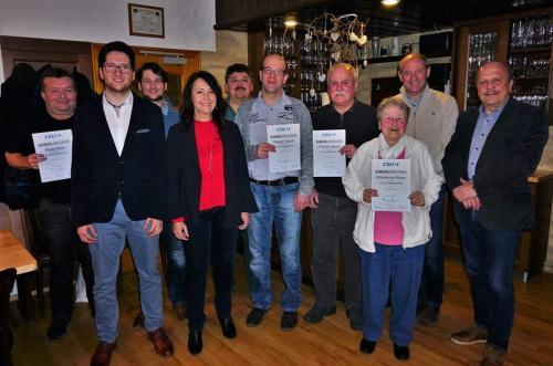 2018-02-25 Helga Huber CSU Referentin bei der Jahreshauptversammlung des Ortsverbandes Breitenbrunn