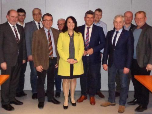 2018-03-14 Helga Huber CSU Baurechtsvortrag bei der Kommunalpolitischen Vereinigung in Postbauer-Heng