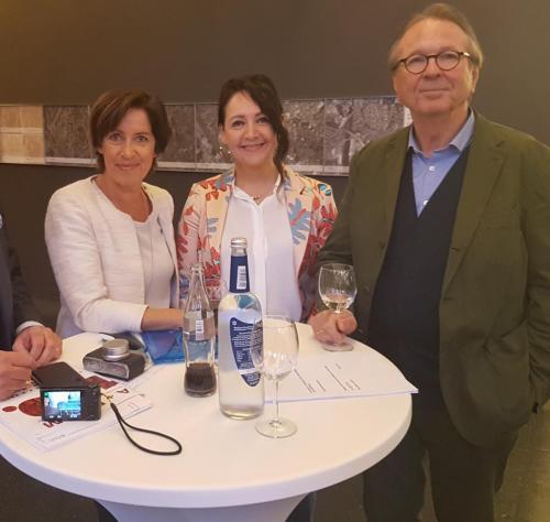 2018-04-10 Huber Helga CSU Podiumsdisskusion mit Ursula Heller und Johannes Berschneider