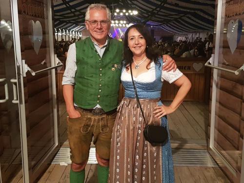2018-05-19 Helga Huber CSU Pfingstvolksfest mit Bgm. Ludwig Eisenreich
