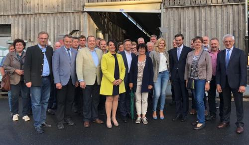 2018-06-22 Helga Huber CSU AGL Bezirksvorstandssitzung mit Besichtigung Hoehere Landbauschule Almesbach