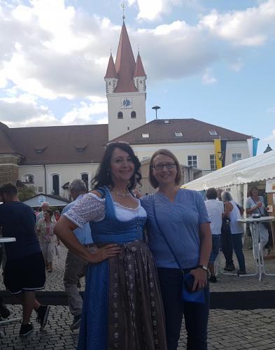 2018-07-08 Huber Helga CSU Buergerfest in Berg mit Susanne Hierl