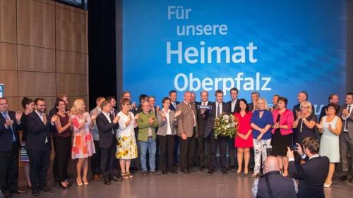 2018-07-14 Helga Huber CSU Bezirksparteitag mit Markus Soeder