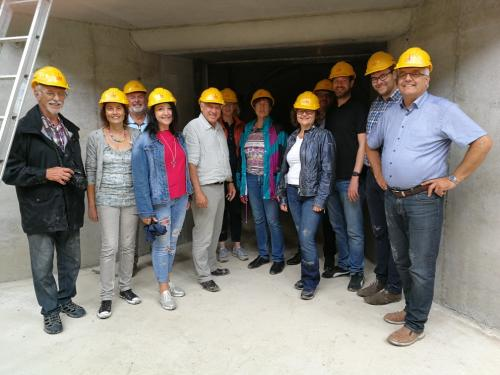 2018-07-21 Helga Huber CSU Besichtigung Pumpspeicherkraftwerk der Fa. Boegl in Gaildorf