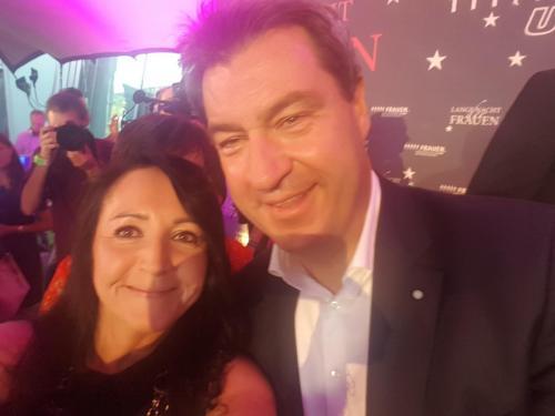 2018-07-24 Helga Huber CSU Lange Nacht der Frauen mit dem Ministerpraesident