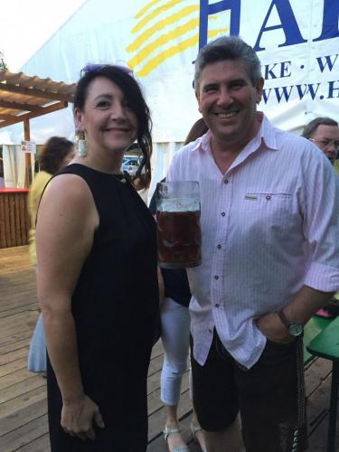 2018-08-01 Helga Huber CSU Koestlbacher Kirwa mit Bgm. Horst Kratzer