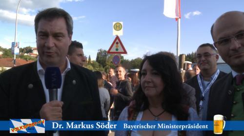 2018-08-26 Helga Huber CSU Toller Bericht bei Volksfest TV