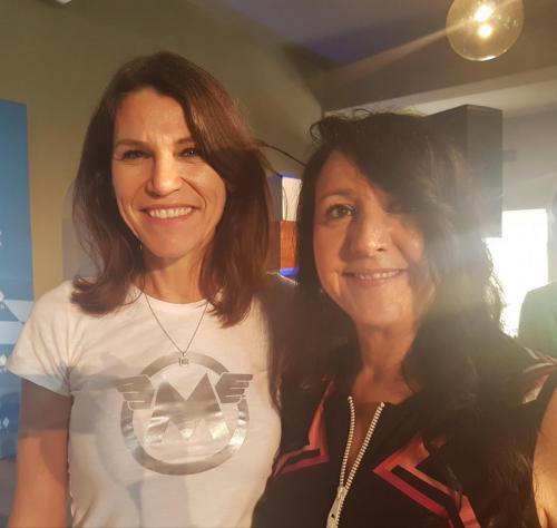 2018-09-12 Helga Huber CSU Kulturbrunch in Muenchen mit der Kultusministerin Marion Kiechle