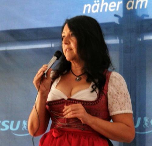 2018-09-17 Helga Huber CSU Kirchweih in Trautmannshofen